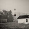 Foggy day at Updike Farmstead