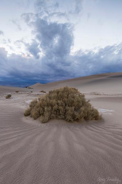 Sunset, Mequite Flat Sand Dunes, Death Valley Nat'l Park