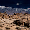Alabama Hills and Sierra Foothills