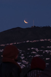 Selenelion lunar eclipse taken from Mt. Victoria, Wellington, New Zealand. 28th July 2018.