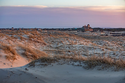 Sunset at Corolla Beach