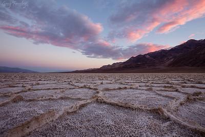 Sunrise, West Side Road, Death Valley Nat'l Park