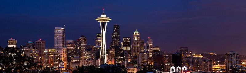 Seattle dusk