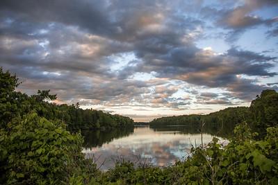 Lake Brandt Evening