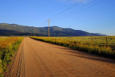 Country Road Near Westcliffe
