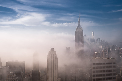 Fog and Midtown, NYC