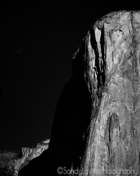 El Capitan in Shadow