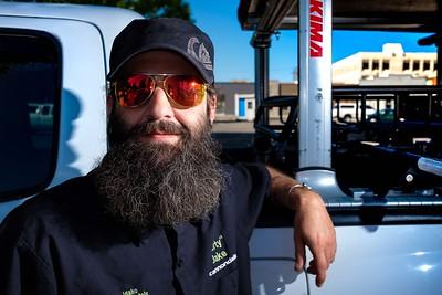Jake Xavier B2X Beard Portrait