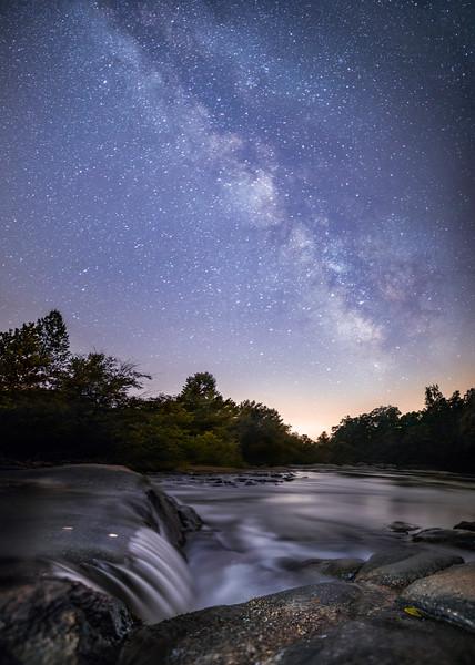 Mayo River Milky Way