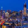 San Francisco Skyline, View from Potrero Hill