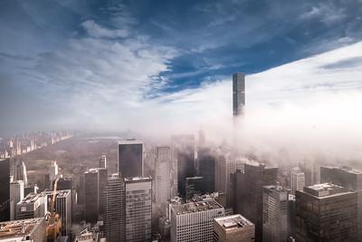 Fog & Central Park