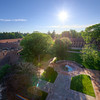 View of the Cranbrook Quadrangle from the Hoey Observatory Tower <br /> <br /> Unfortunately, this photograph is not available for purchase due to the Cranbrook Educational Community's policy on commercial photography.
