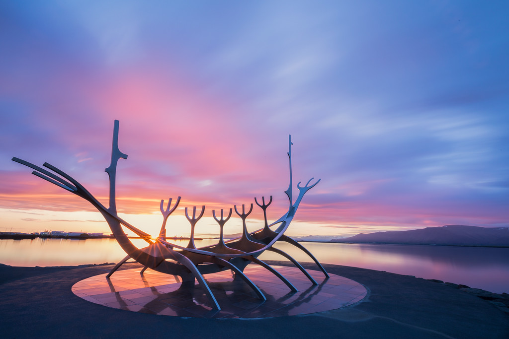 Midnight Sun @ The Sun Voyager (Reykjavík, Iceland)