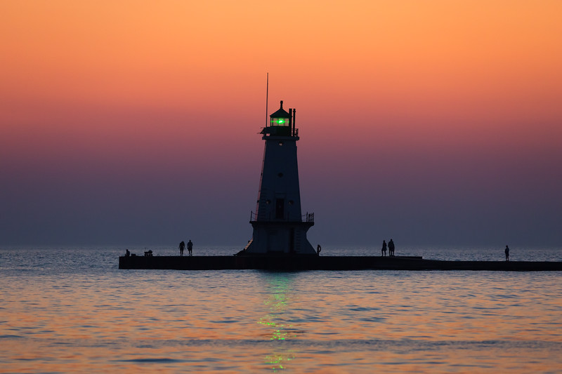 Ludington Afterglow