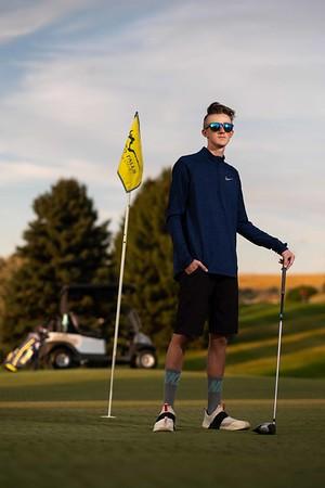 Nick Kempkers Idaho Falls Tigers Senior Pictures