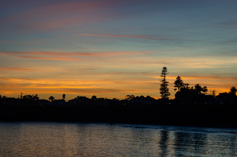 santa cruz sunset - sitka