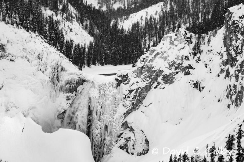 Upper Yellowstone River Falls