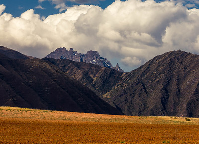 The Many Textures of the Andes