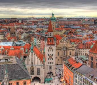 Rooftops of Munich