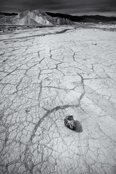 Rock, Furnace Creek Wash