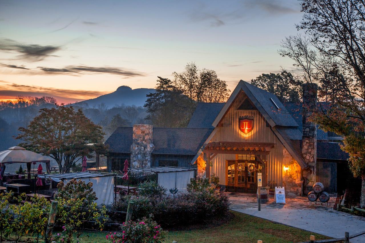 Sunrise at Jolo Winery