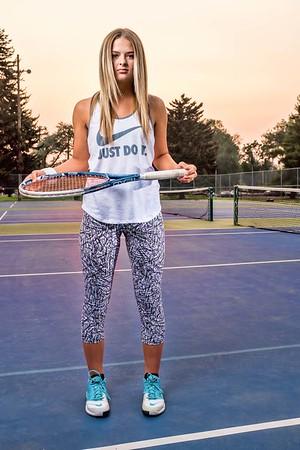Hattie Austin Skyline Grizzlies Tennis