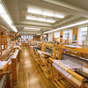 Kingswood Weaving Studio <br /> <br /> Unfortunately, this photograph is not available for purchase due to the Cranbrook Educational Community's policy on commercial photography.