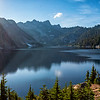 Snow Lake Panorama, Alpine Lakes Wilderness, Washington (September 2018)