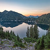 Snow Lake, Alpine Lakes Wilderness, Washington.