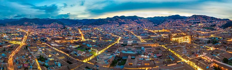 Cusco, Peru, from above (November 2018)