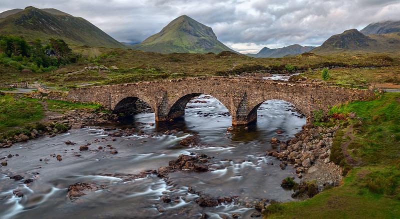 Sligachan Bridge, Isle of Skye, Scotland (May 2019)