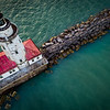 Chicago Harbor Lighthouse, Chicago, Illinois (March 2018)