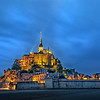 Mont Saint Michel by Night, Normandy, France (June 2018)