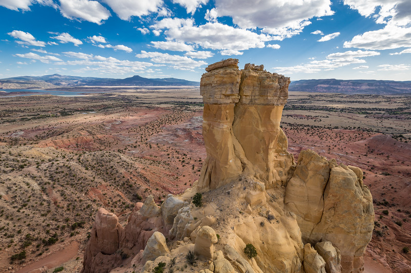Chimney Rock, Ghost Ranch, near Abiquiu, New Mexico (May 2018)