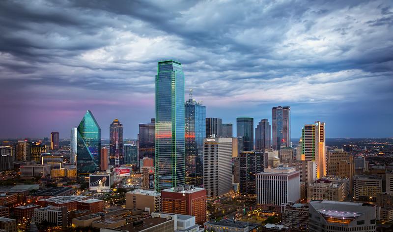 Stormclouds Over Dallas, Dallas, Texas (March 2018)