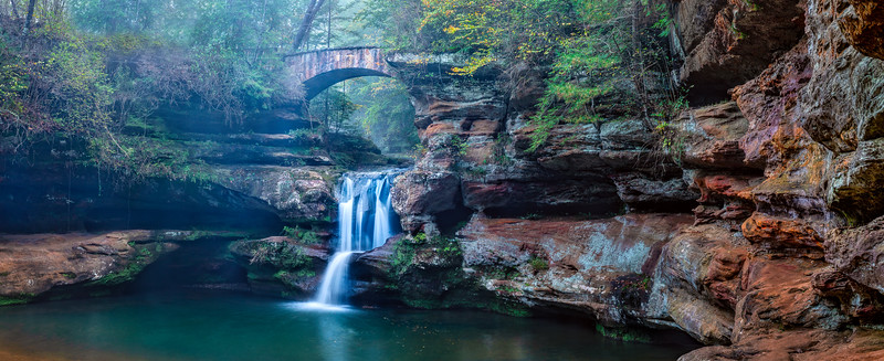 Upper Falls, Hocking Hills State Park, Ohio (October 2018)