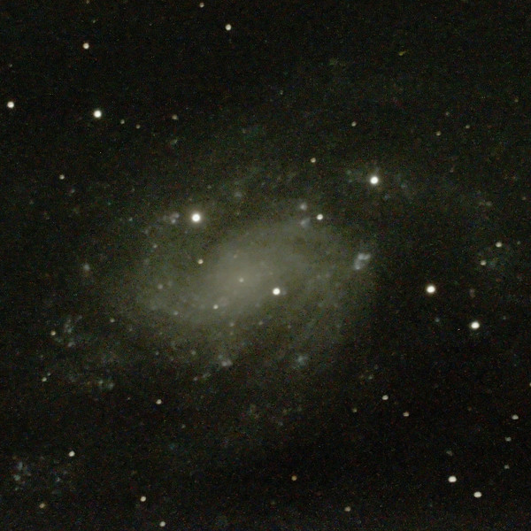C70 NGC300 Sculptor Spiral Galaxy - 17/09/2020 (Processed cropped stack)