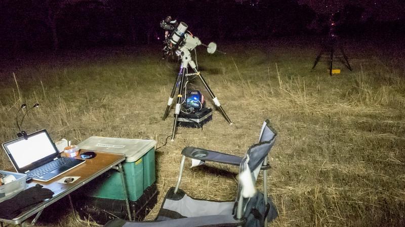 Astrophotography setup - Youndegin 25/10/2019