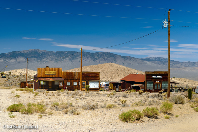 Goldpoint, Nevada, August 2013.