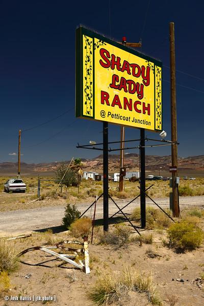 Highway 95, Nevada, August 2013.