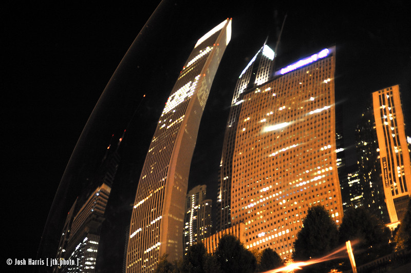 Millennium Park, Chicago, September 2008.