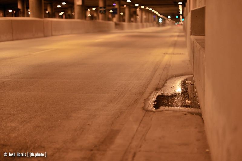Lower Wacker Drive, Chicago, August 2008.