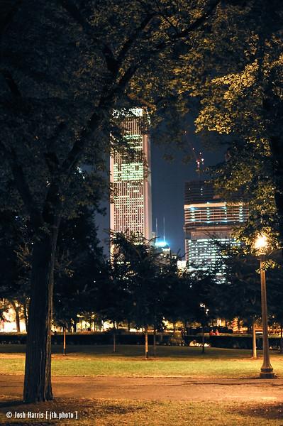 Grant Park, Chicago, September 2008.