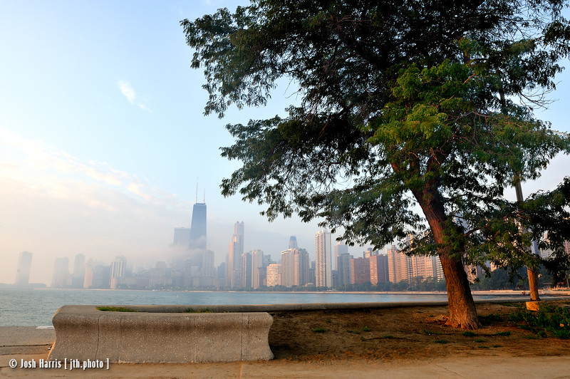 North Avenue Beach, Chicago 2009.