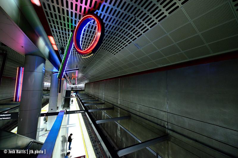 Metro Station, Pershing Square, Los Angeles, December 2014.