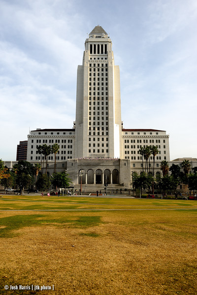 City Hall, Los Angeles, December 24, 2014.