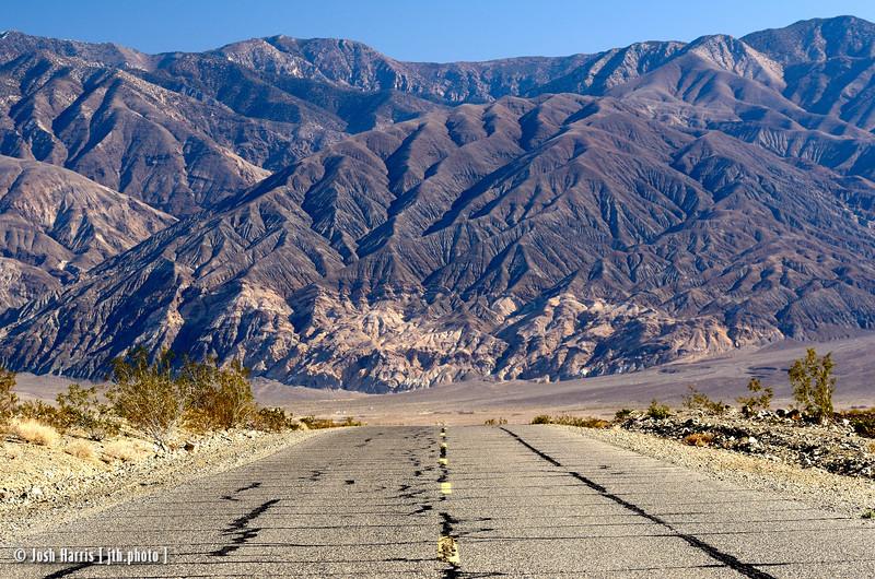 Trona Wildrose Rd., Death Valley, California, February 2013.