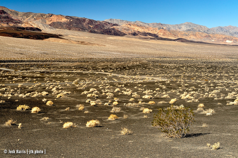 Ubehebe Crater, Death Valley, February 2013.
