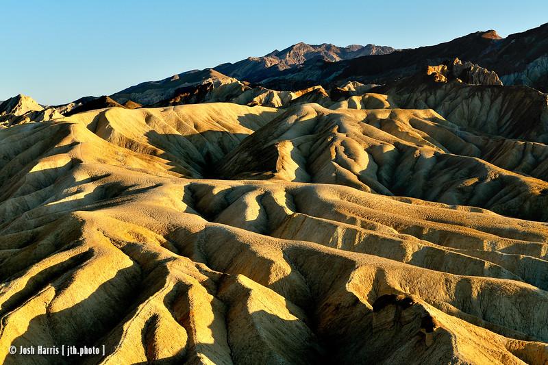 Zabriskie Point, Death Valley, February 2013.