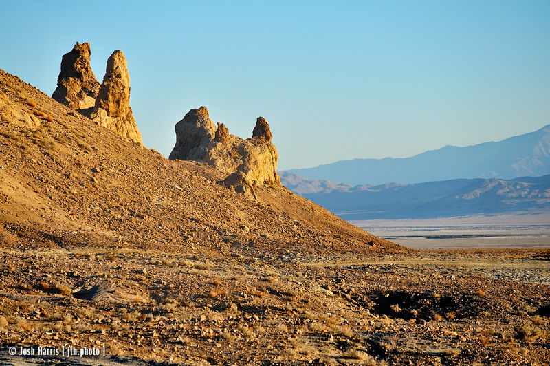 Trona Pinnacles, Trona, California, February 2013.